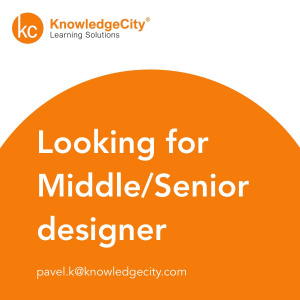 Knowledgecity ищет Middle/Senior-дизайнера