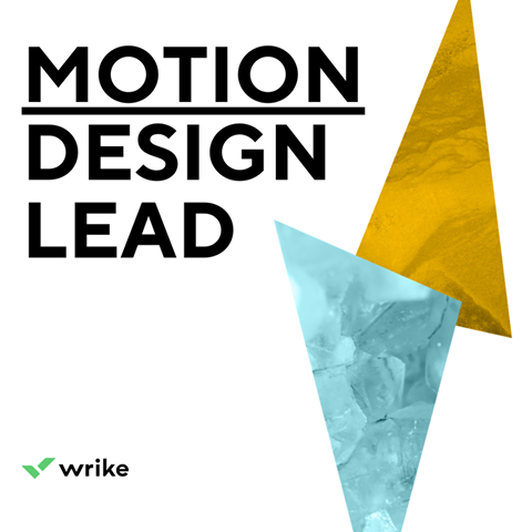Wrike ищет Motion Design Lead