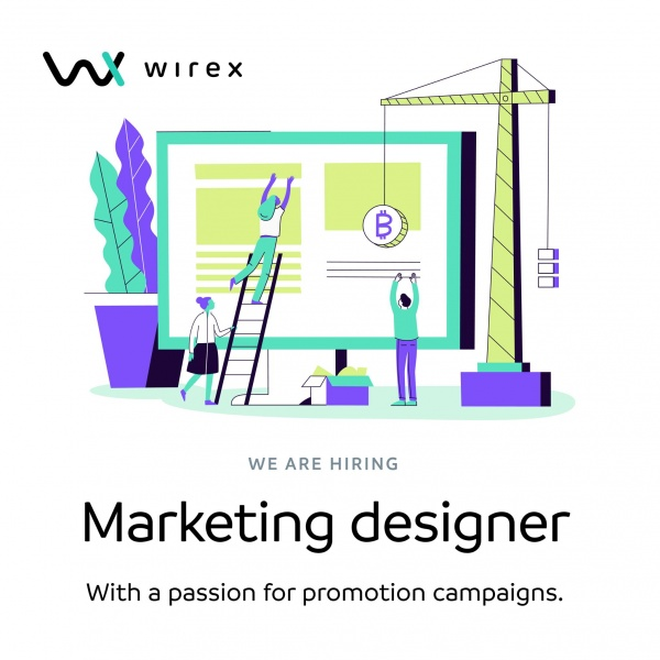 Wirex ищет Marketing Designer'а (Киев)